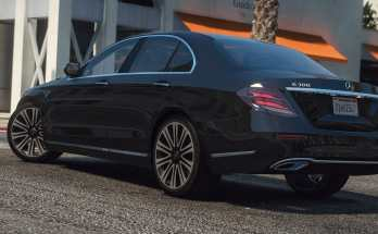 Mercedes-Benz E300 Exclusive 4matic 2017 v2.0