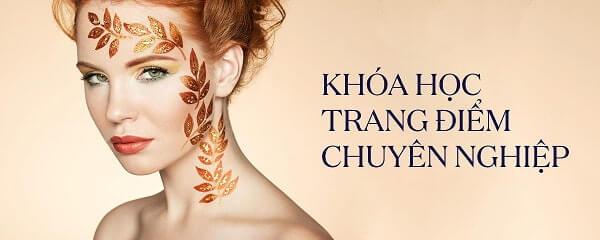 Khóa học trang điểm chuyên nghiệp cùng chuyên gia hàng đầu tại Tphcm