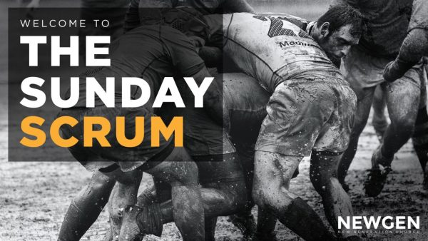 The Sunday Scrum - Input from Elders Image