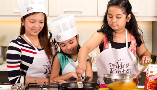 Bake and Learn with Your Kids