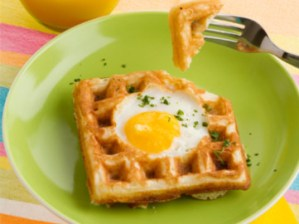 Egg in a Waffle Recipe