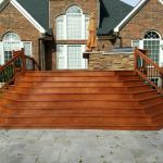wood deck staining charlotte nc