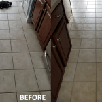 Tile & Grout Cleaning Before and After