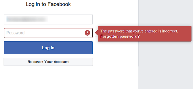 How do I change my facebook password