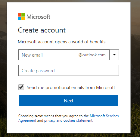 How to Setup Outlook Account   Microsoft Outlook Signup