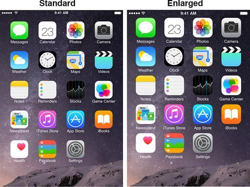 iPhone IconsHow to Easily Make Icons Larger on iPhone