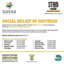 Things You Didn't Know About SASSA Unemployment Relief Fund