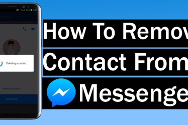 Delete Someone from Facebook Messenger
