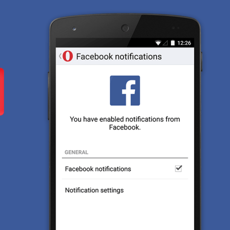 Facebook SMS Notification
