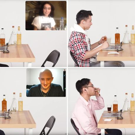 Drinking Games With Your Girlfriend Over Facetime