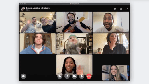 Facebook Video Call Conferencing