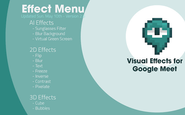 Google Meet Visual Effects