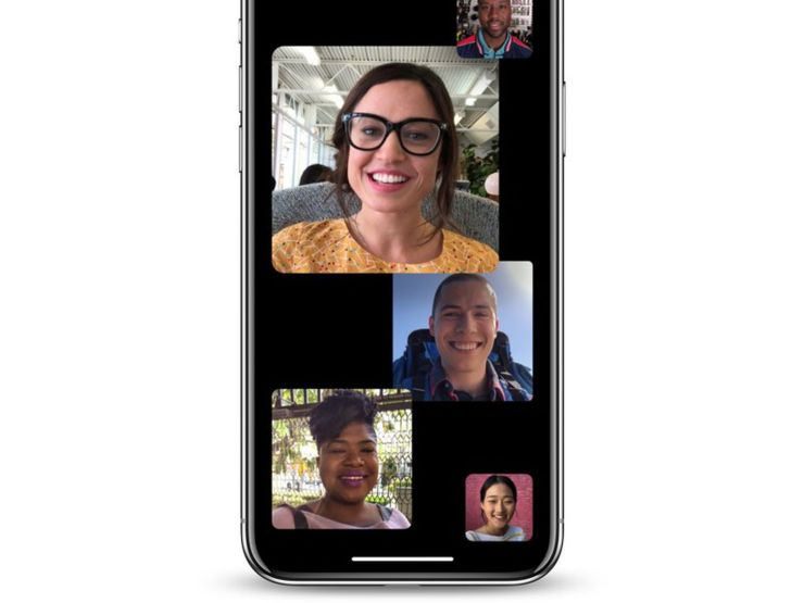 Group FaceTime Call