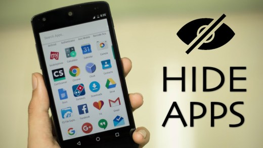 Hide Apps On Android Devices
