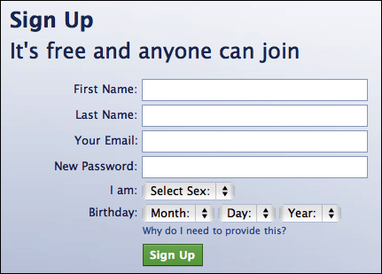 Login On New Facebook Account