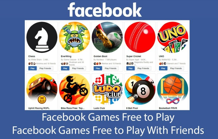 Play Facebook Games With Friends
