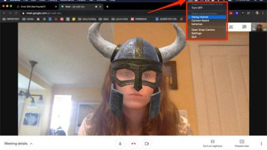 Use Snap Camera in Chrome
