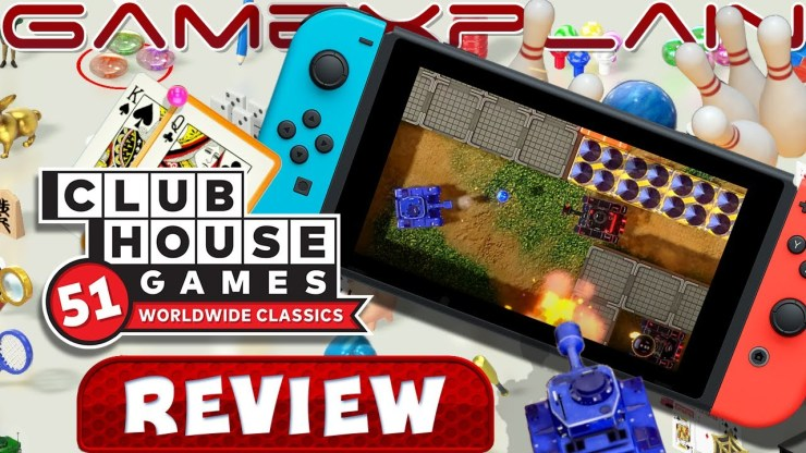 Clubhouse Games Switch Review