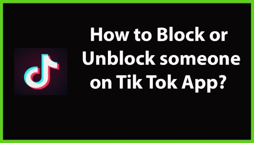 How To Block Or Unblock a User On Tiktok