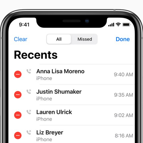 Check Conference Call Details iPhone
