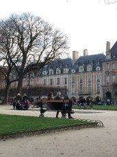 Place des Voges in the Marais