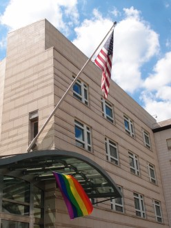 Pride at the U.S. Embassy days after #LoveWon