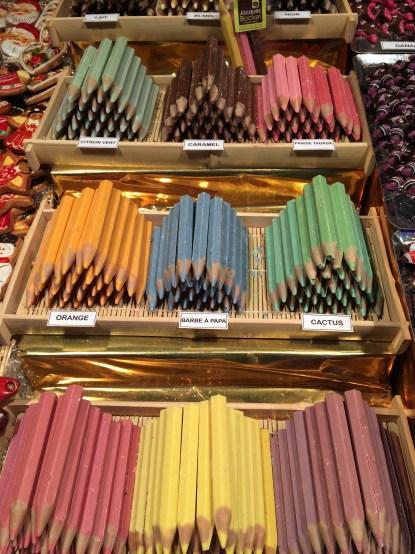 Chocolate crayons!