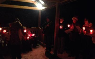 The Community of New Glasgow's Annual Candle Light Walk & Tree Lighting