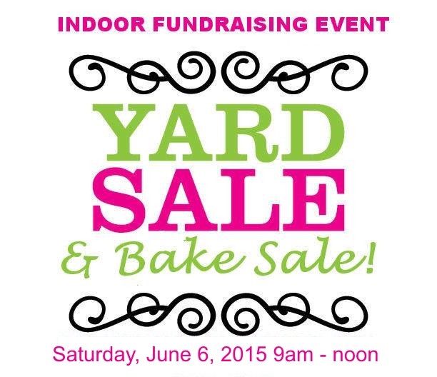 Yard Sale & Bake Sale Fundraiser