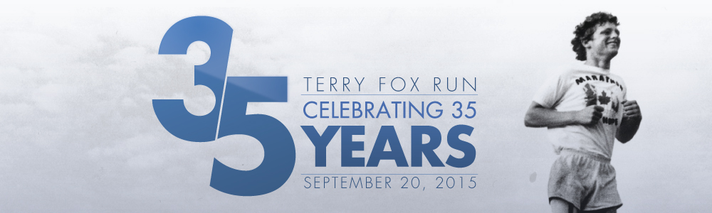 35th Terry Fox Run – Sep 20th