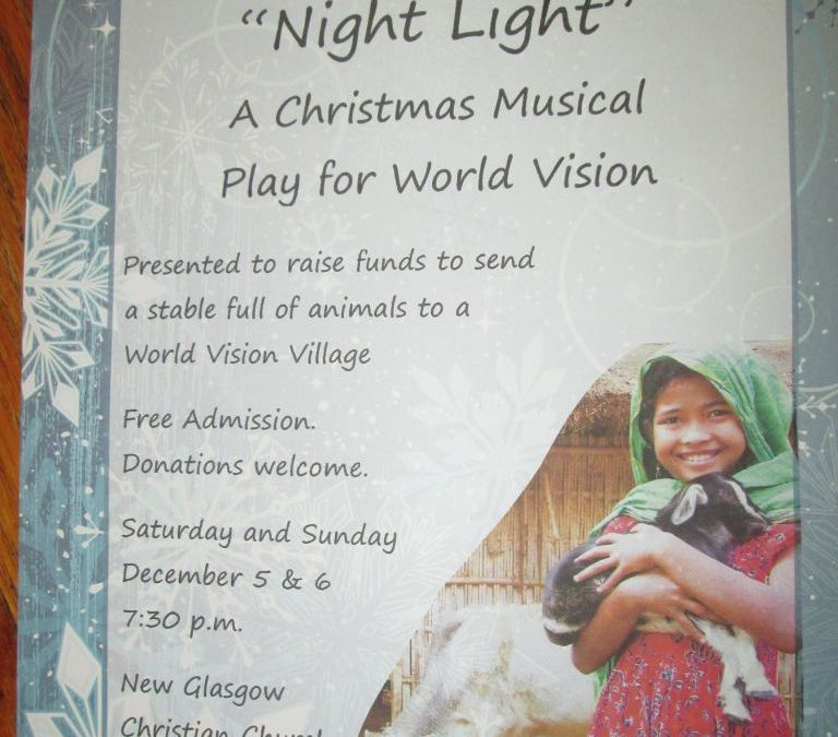 """NIGHT LIGHT"" A Christmas Musical Play for World Vision"