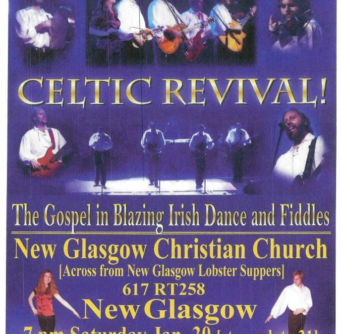 Celtic Revival Jan 30 2016 at New Glasgow Christian Church