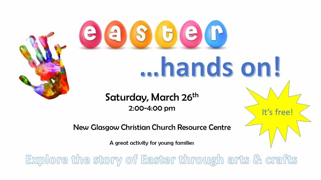 Easter… hands on!