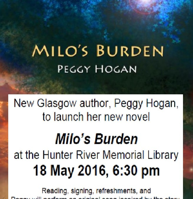Book Launch – Milo's Burden