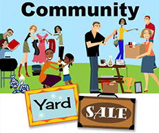 New Glasgow Christian Church Yard sale