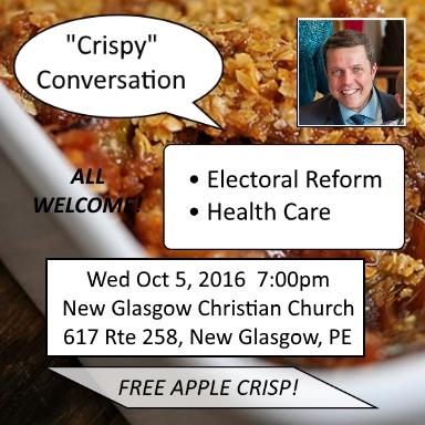 Crispy Conversation Town Hall