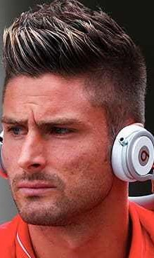Olivier Giroud Haircut Before And After World Cup New