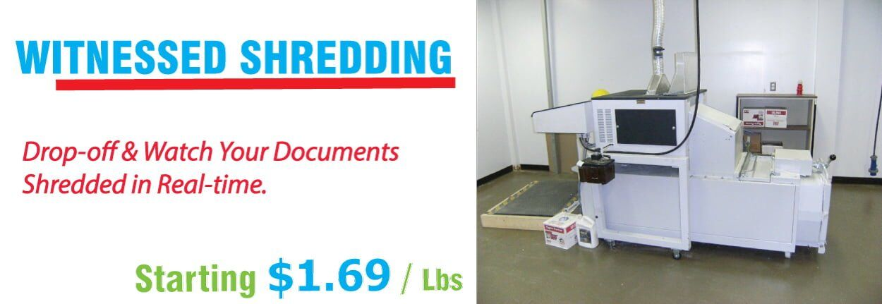 Witnessed Document Shredding Service in New Hampshire
