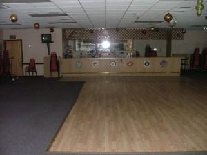 Banquet hall dance floor