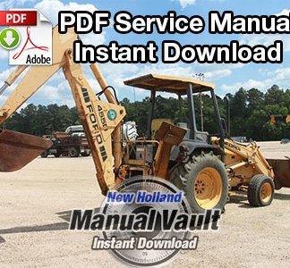 Ford 455D, 555D, 575D, 655D, 675D Backhoe Loader Tractor Repair Manual