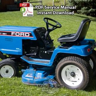 Ford LGT12 LGT14 LGT17 LGT18 Lawn Tractor Service Manual