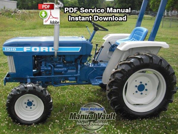 Ford 1310, 1510, 1710 Tractor Repair Manual