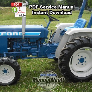 Ford 1310, 1510, 1710 Tractor Repair Manual