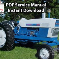 ford tractor service manual manual vault ford commander 6000 tractor shop manual