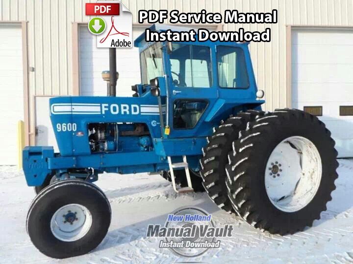 ford 8000 8600 9000 9600 tractor service manual manual vault rh newholland manualvault com Ford Diesel Tractor Wiring Diagram ford 800 tractor wiring diagram