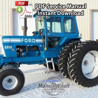 Ford 8000, 8600, 9000, 9600 Tractor Service Manual