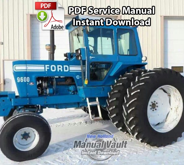 ford 8000 8600 9000 9600 tractor service manual manual vault ford 8000 8600 9000 9600 tractor service manual