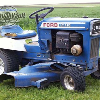 Ford Lawn Tractor Attachment Repair Manual