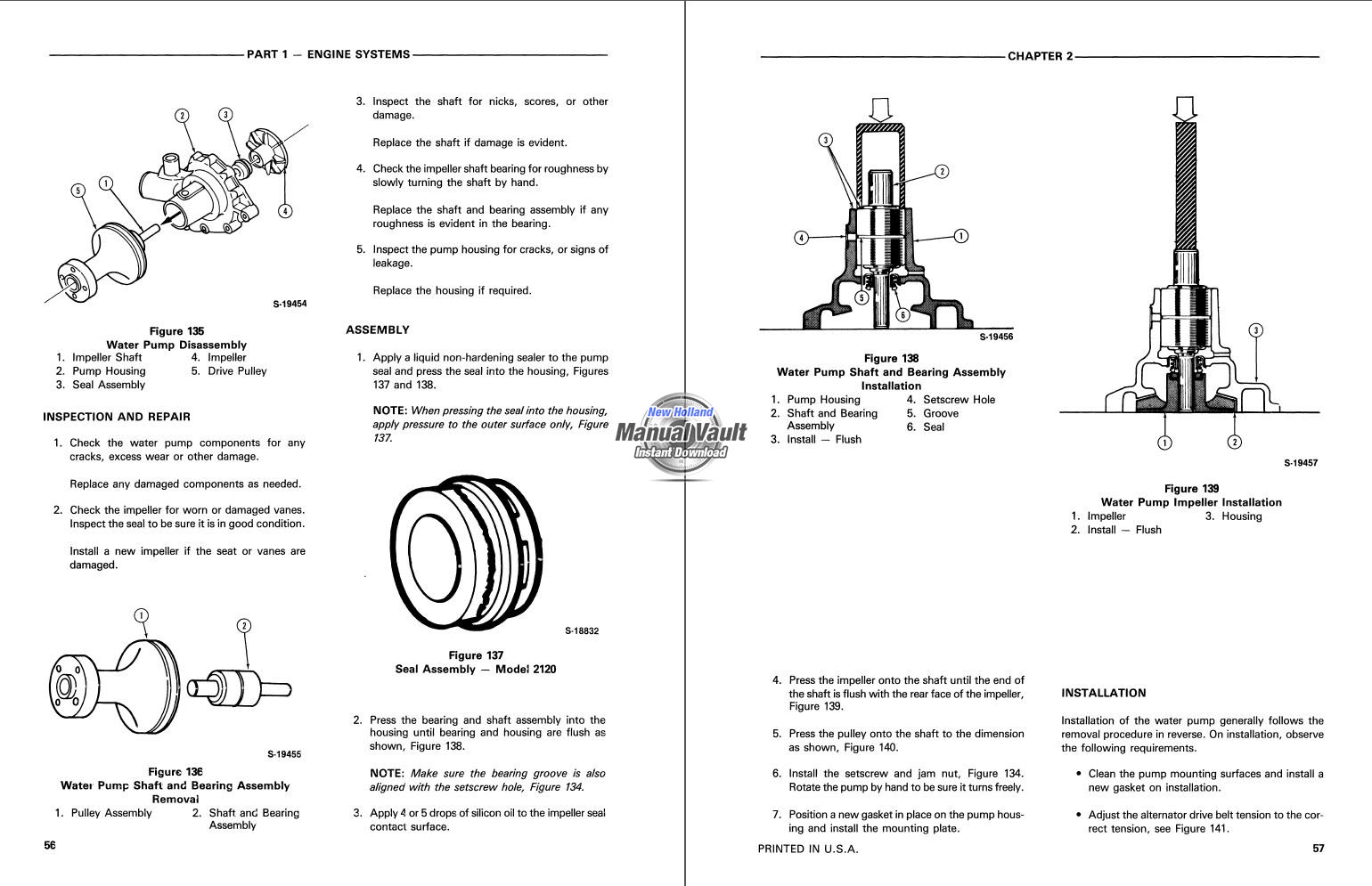 Ford New Holland 1920  2120 Tractor Repair Manual