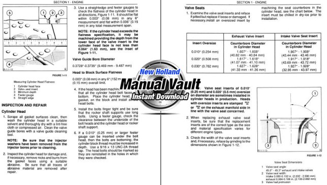 Ford D Series TLB Repair Manual Sample